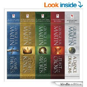 Amazon Com George R R Martin S A Game Of Thrones 5 Book Boxed
