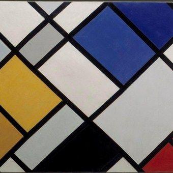 contracompositie, Theo van Doesburg (kubisme)