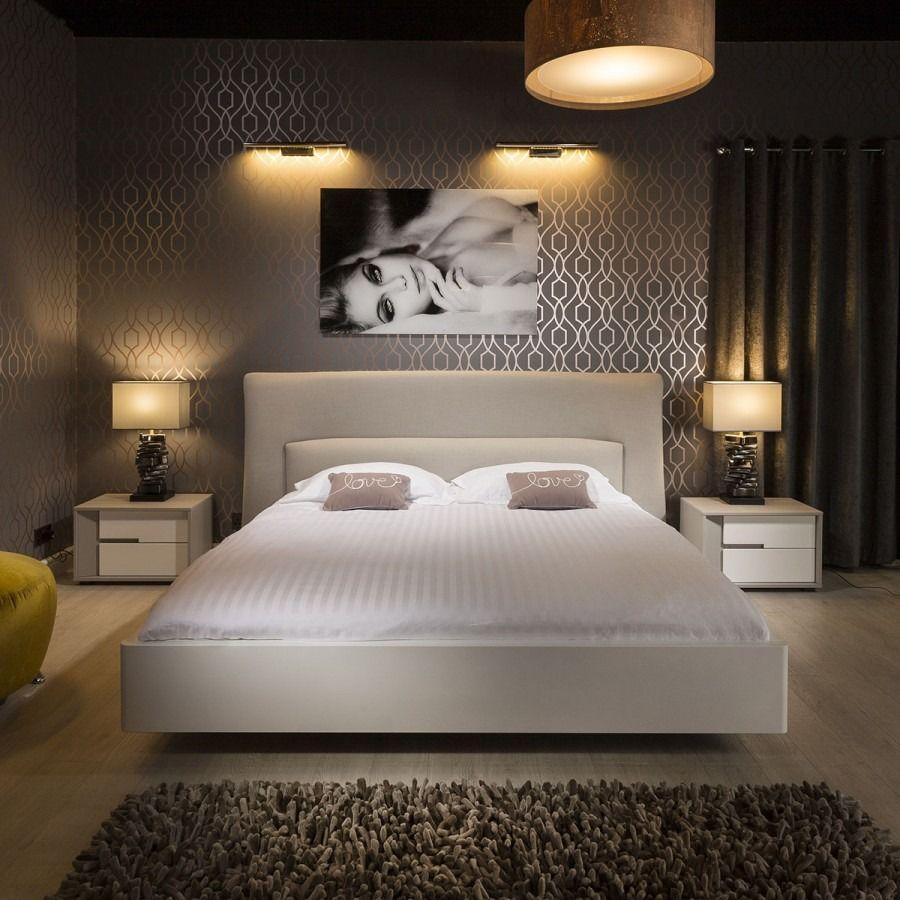 Best Quatropi Deluxe Super King Bed Frame And Headboard Light 400 x 300