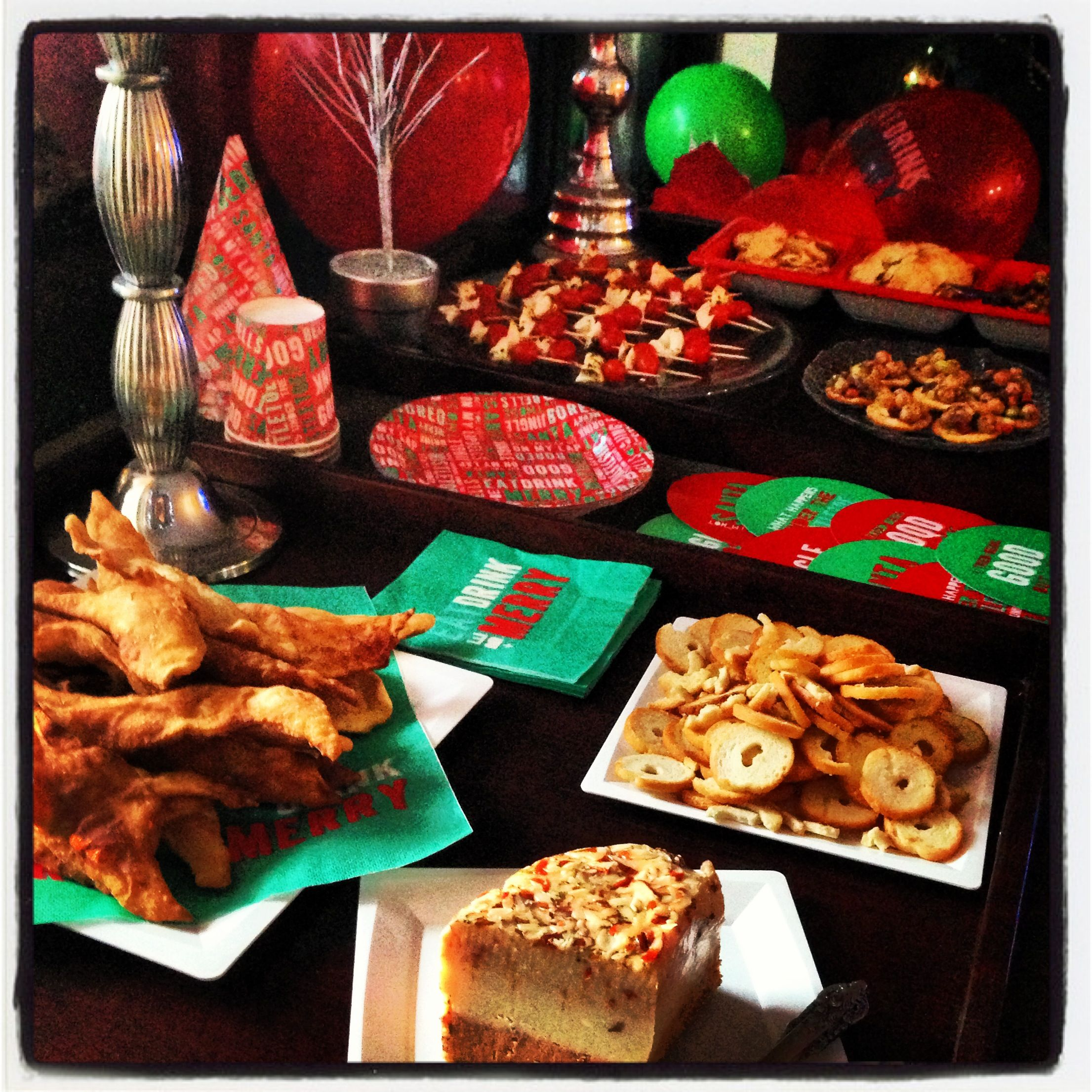 Food For Christmas Party: Christmas Open House Ideas
