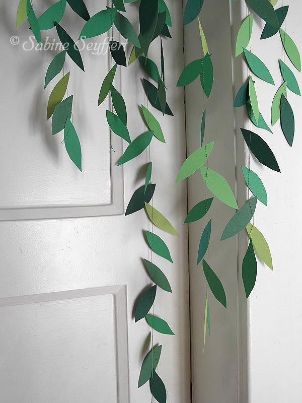 Girl 5 fensterdeko deko projekt pinterest - Dekoration dschungel ...