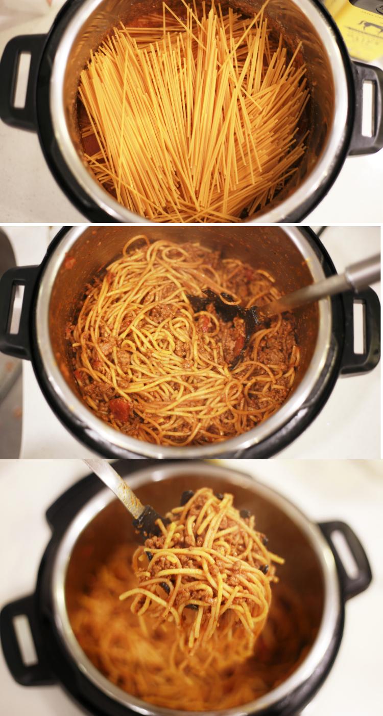 instant pot spaghetti  recipe in 2020  instant pot