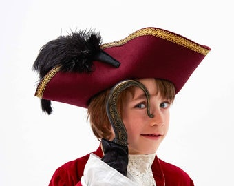 Hand Made And Bespoke Children Costumes And Bird By Atelierspatz Pirate Costume Kids Kids Costumes Captain Hook Costume