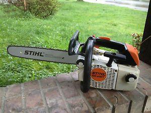 Stihl Ms200t Arborist Professional Chainsaw Ms 200t Ebay