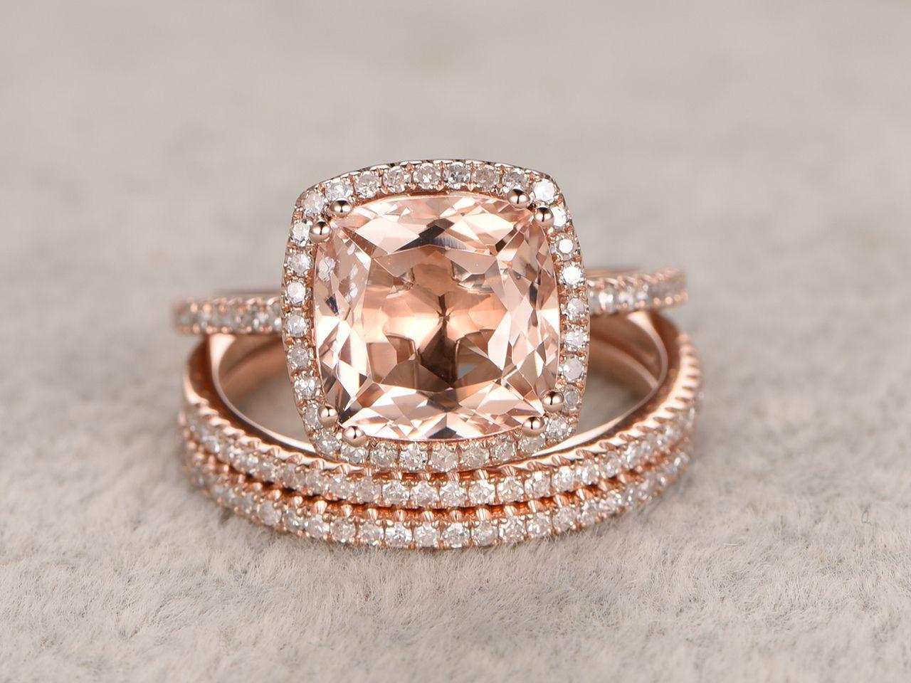 Pin On Morganite Engagement Ring