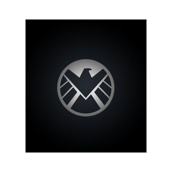 Marvel Shield Logo Wallpaper Liked On Polyvore Featuring