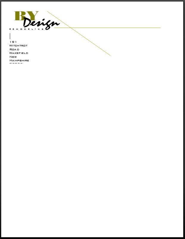 business professional letter head layout - Google Search ...