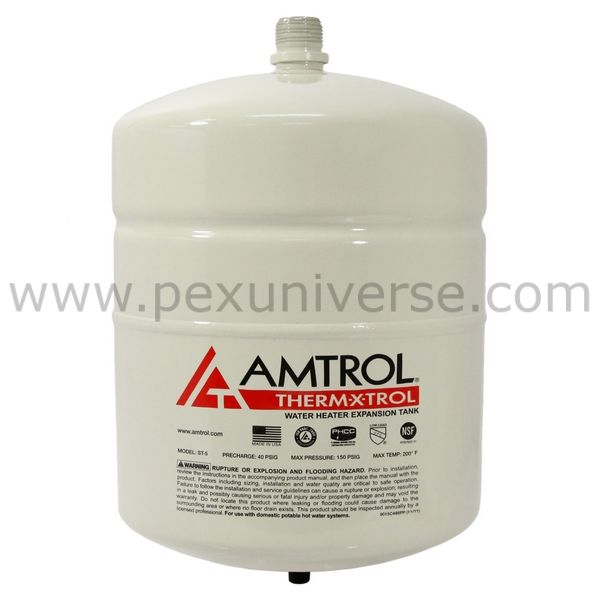 Therm X Trol St 5 Thermal Expansion Tank 2 0 Gal Volume With Images Water Heating Systems Domestic Hot Water Thermal Expansion