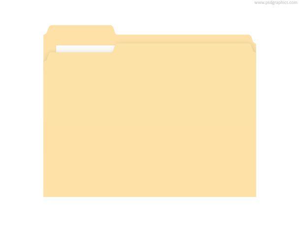Great Site For Free Psd Downloads Folder Psd Manila Folder Folder Templates