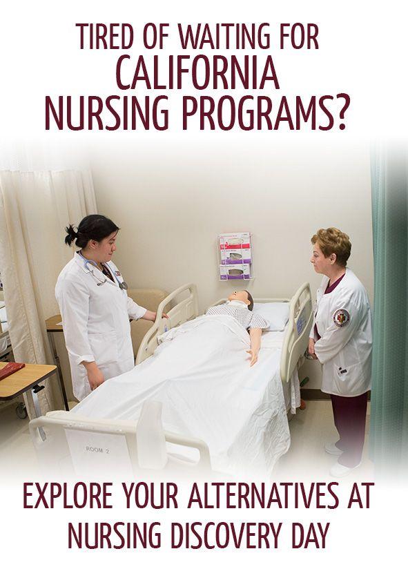 Tired Of Waiting For California Nursing Programs Explore Your Alternatives At Nursin Nursing Programs Nursing School Scholarships Accelerated Nursing Programs