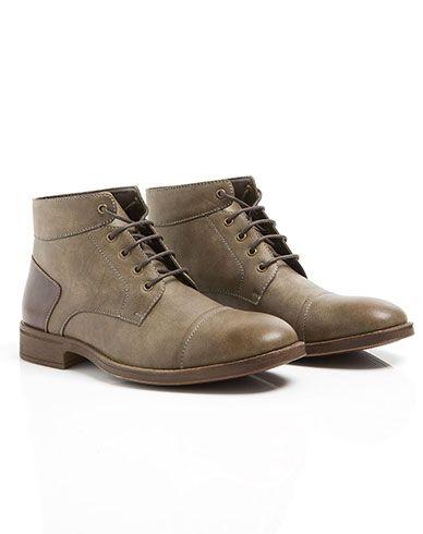c9898bcf Imagen para Botas para Hombre Vassi de Gef Botines Hombre, Zapatos De Cuero  Para Hombre