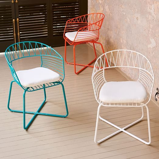 Soleil Metal Outdoor Bistro Chair Bistro Chairs Outdoor Outdoor Dining Chairs Pallet Furniture Outdoor