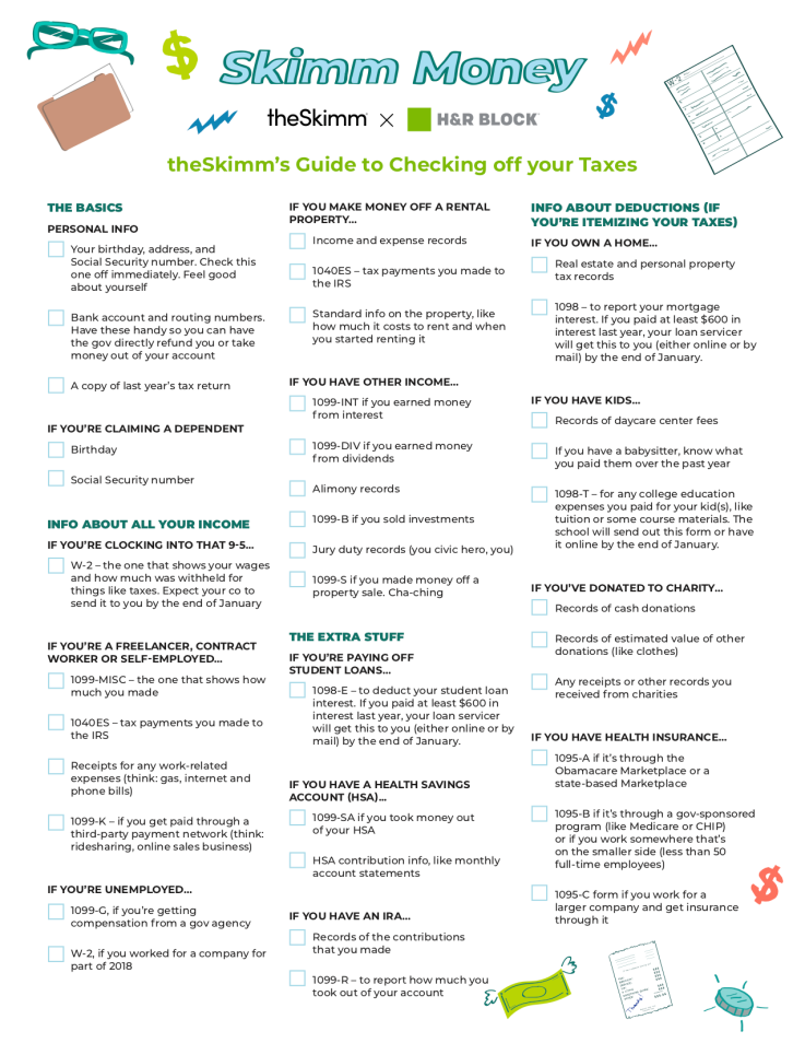 Taxes Checklist Tax Checklist Tax Preparation Tax Prep Checklist