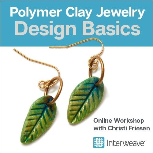 Learn All The Basics Of Polymer Clay While Making Your Own Earrings In This 20 Minute Intro Work With Christi Friesen
