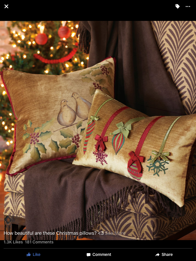 Pin by Elizabeth Bailey on Christmas pillows | Pinterest ...