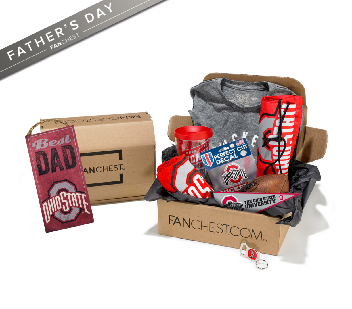 Ohio State Father S Day Gift Box Ohio State Gear For Dads Perfect Gift For Dad Fathers Day Gifts Ohio State Gear
