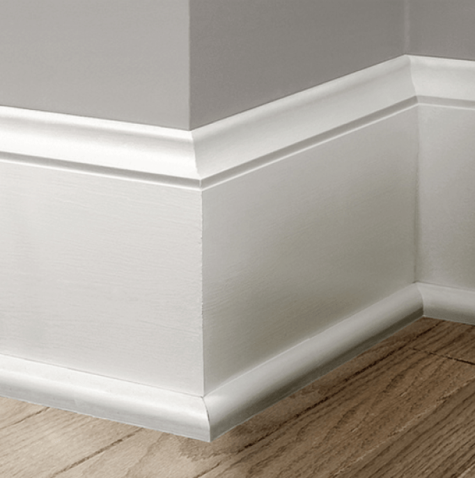 Colonial Baseboard Moulure Couloir