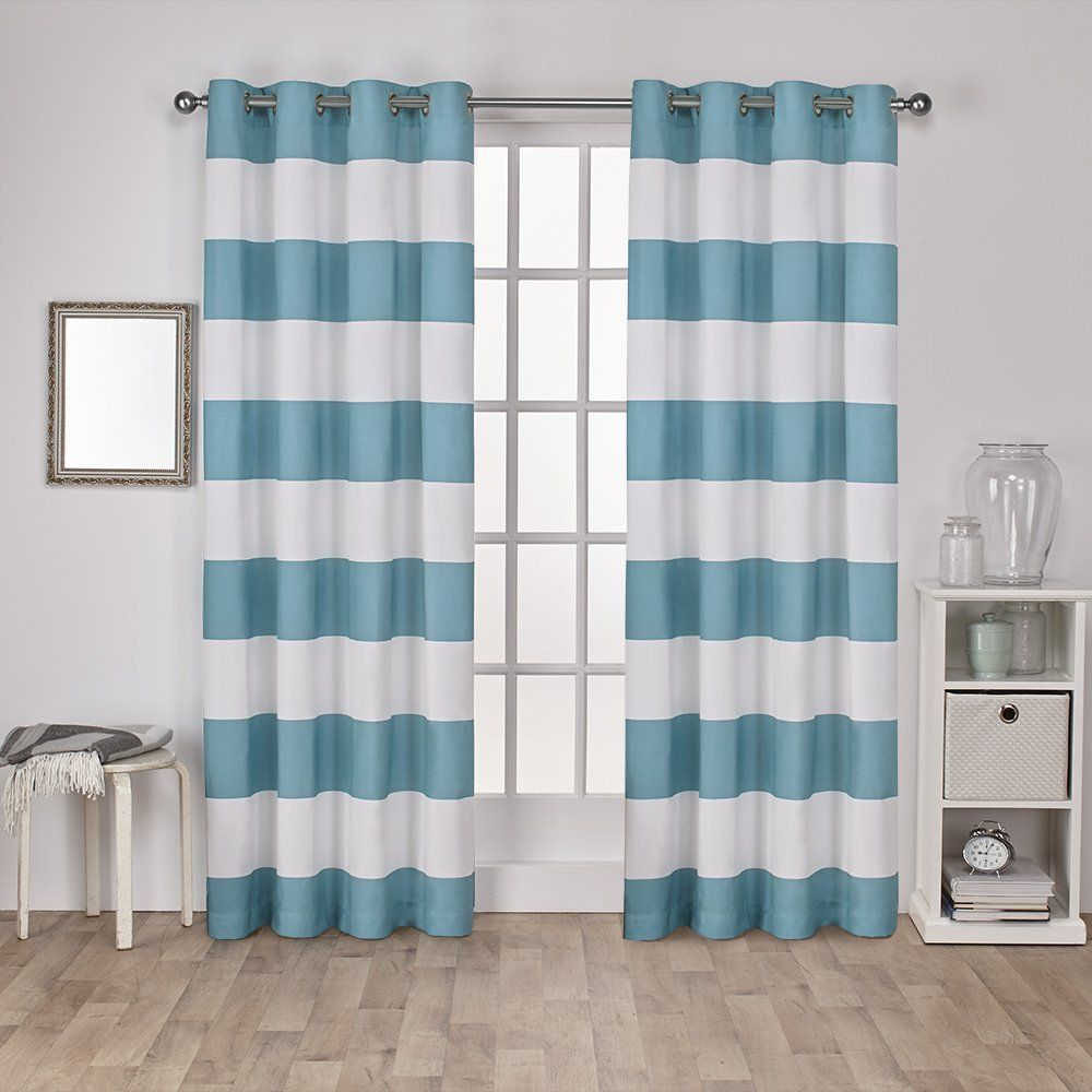 These Curtains Would Make A Perfect Addition To A Beach Themed