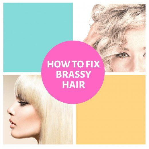 How to Get Rid of Brassy Hair #hairhowtoget