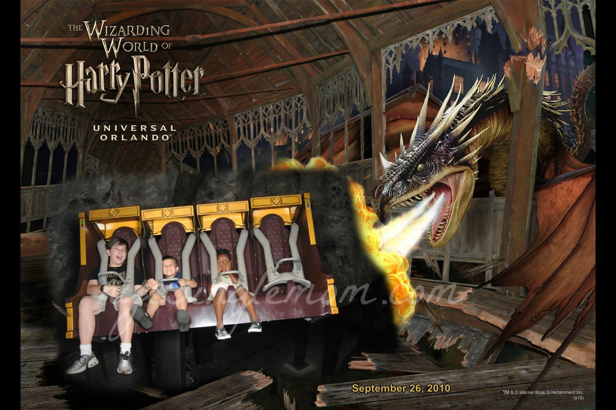 Harry Potter Ride Universal Studios Florida Universal Orlando Universal Studios