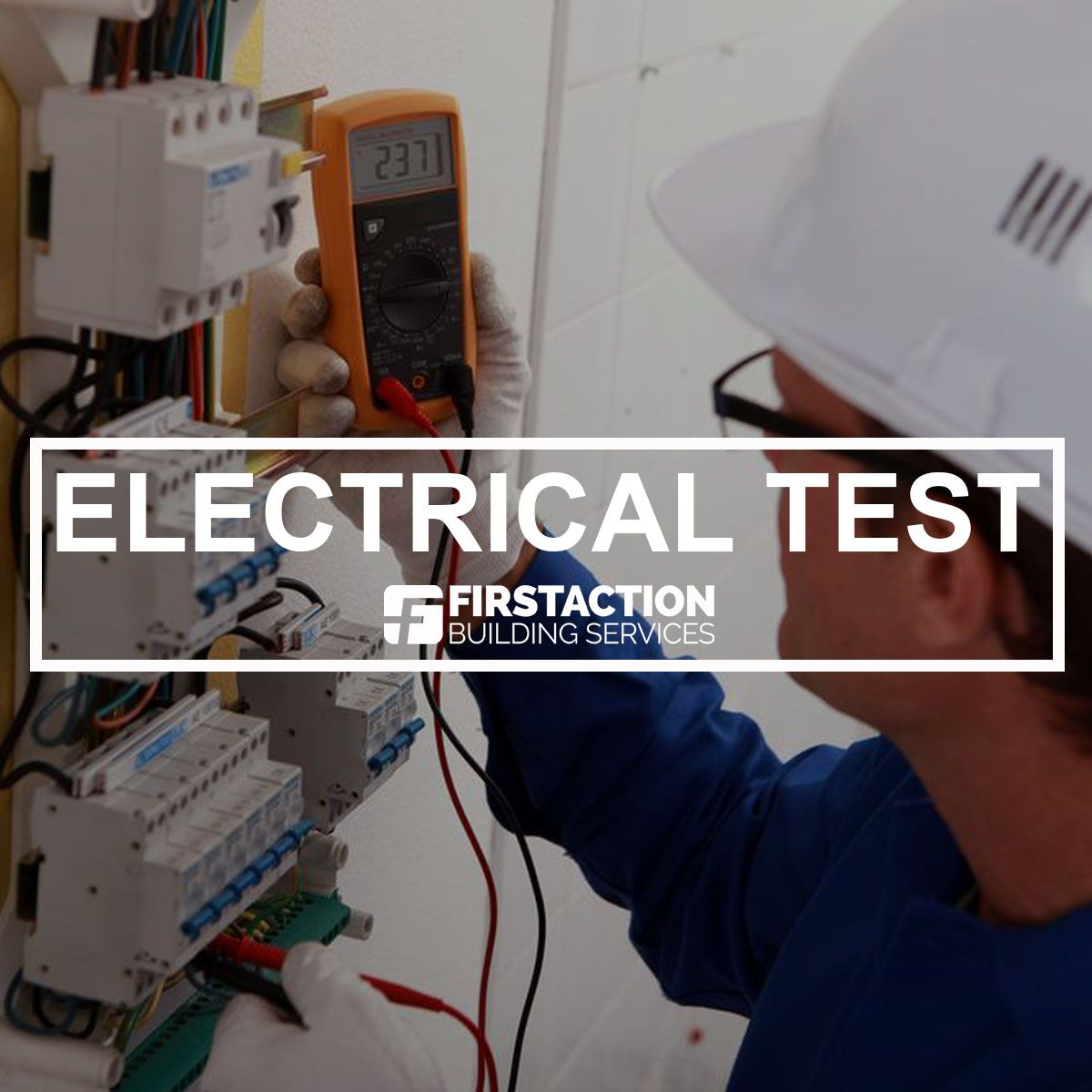 Here at First Action, we specialise in electrical reports and ...