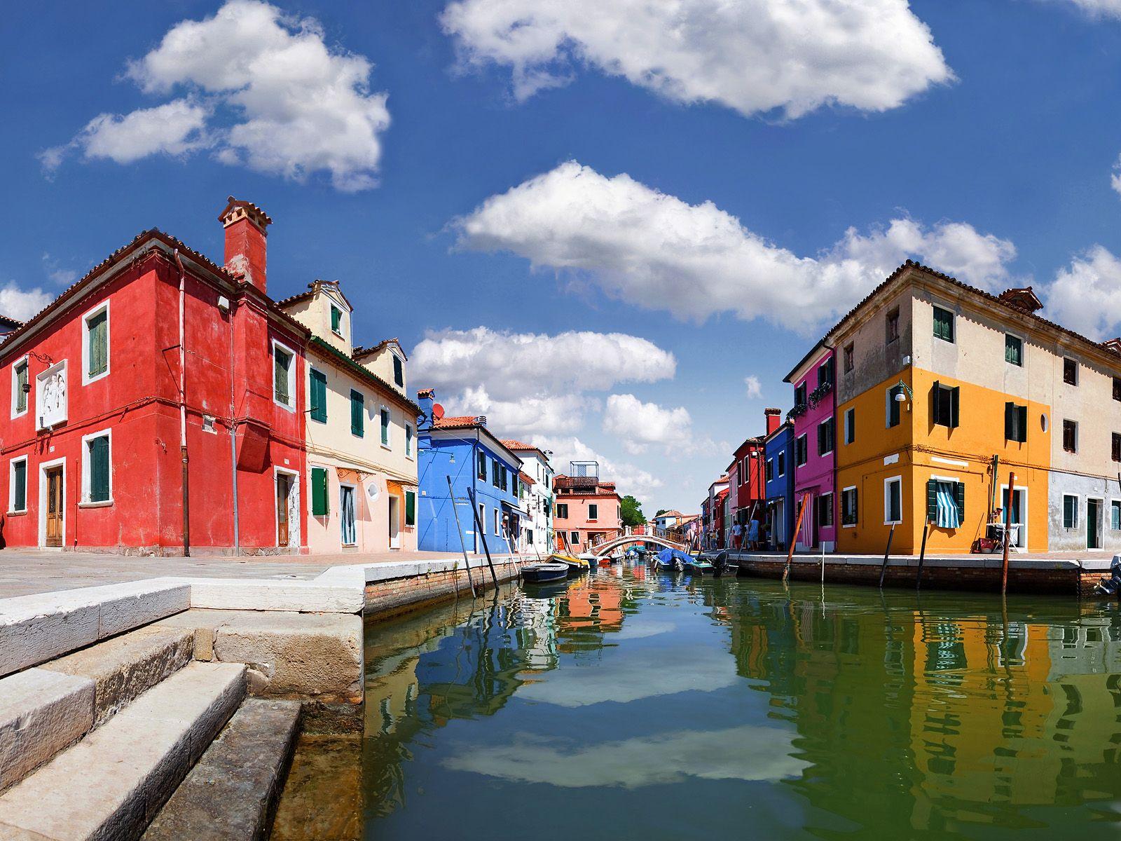 Colorful Homes, Burano, Venice, Italy