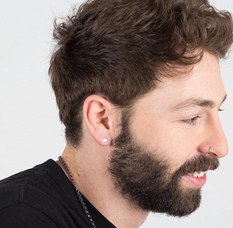 Men Earring 59 Men Earring Stud Earrings Mens Jewelry ...