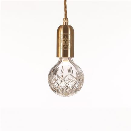 Crystal Bulb Pendant Clear Lee Broom Lee Broom Lamper