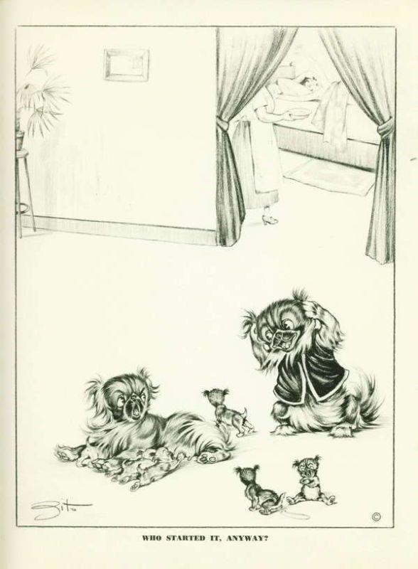 Old cartoon