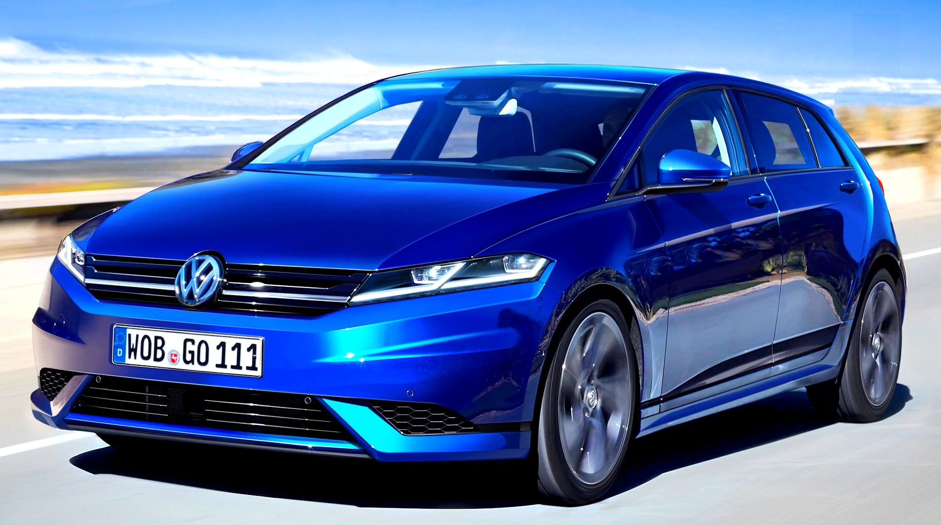 2018 Volkswagen Golf 8 New Pictures Revealed With Images