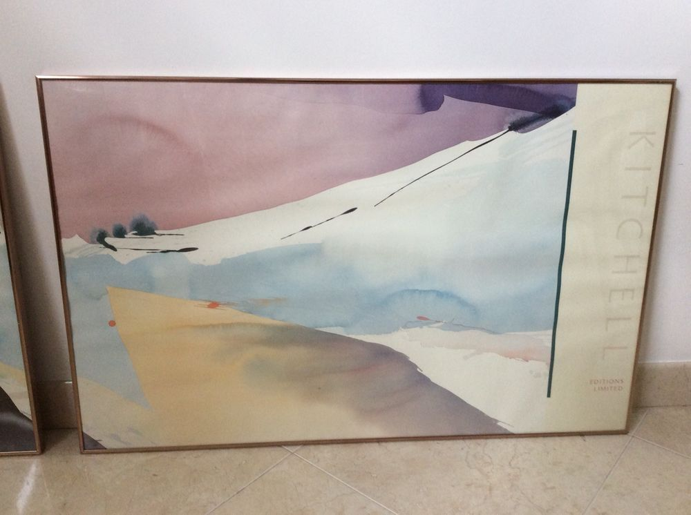 Editions Limited Gallery kitchell editions limited galleries print signed dated 83