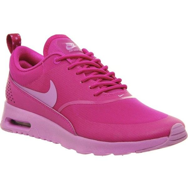 NIKE Air max thea mesh trainers ($130) ❤ liked on Polyvore