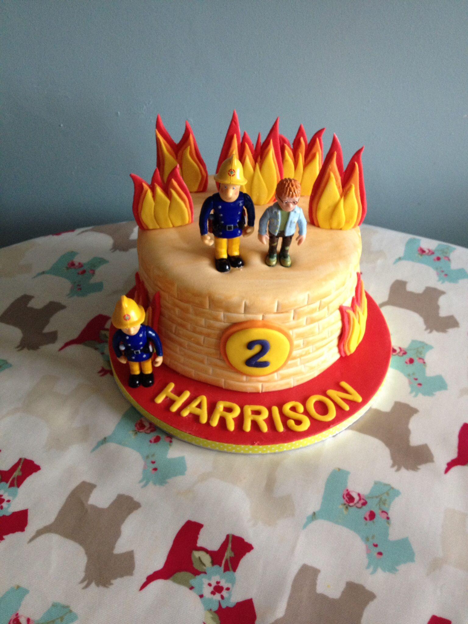 fireman sam cake fireman birthday party bolos. Black Bedroom Furniture Sets. Home Design Ideas