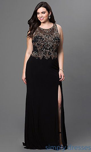 Plus size dresses long formal