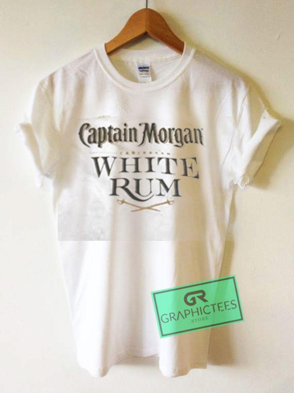 d2c6d84073584 Captain Morgan Caribbean White Rum Graphic Tees Shirts   Price   13.50
