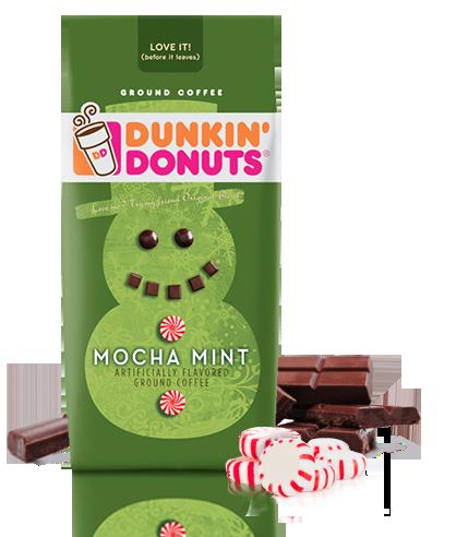 Delicious. Mocha Mint Dunkin' Donuts Coffee Mint mocha