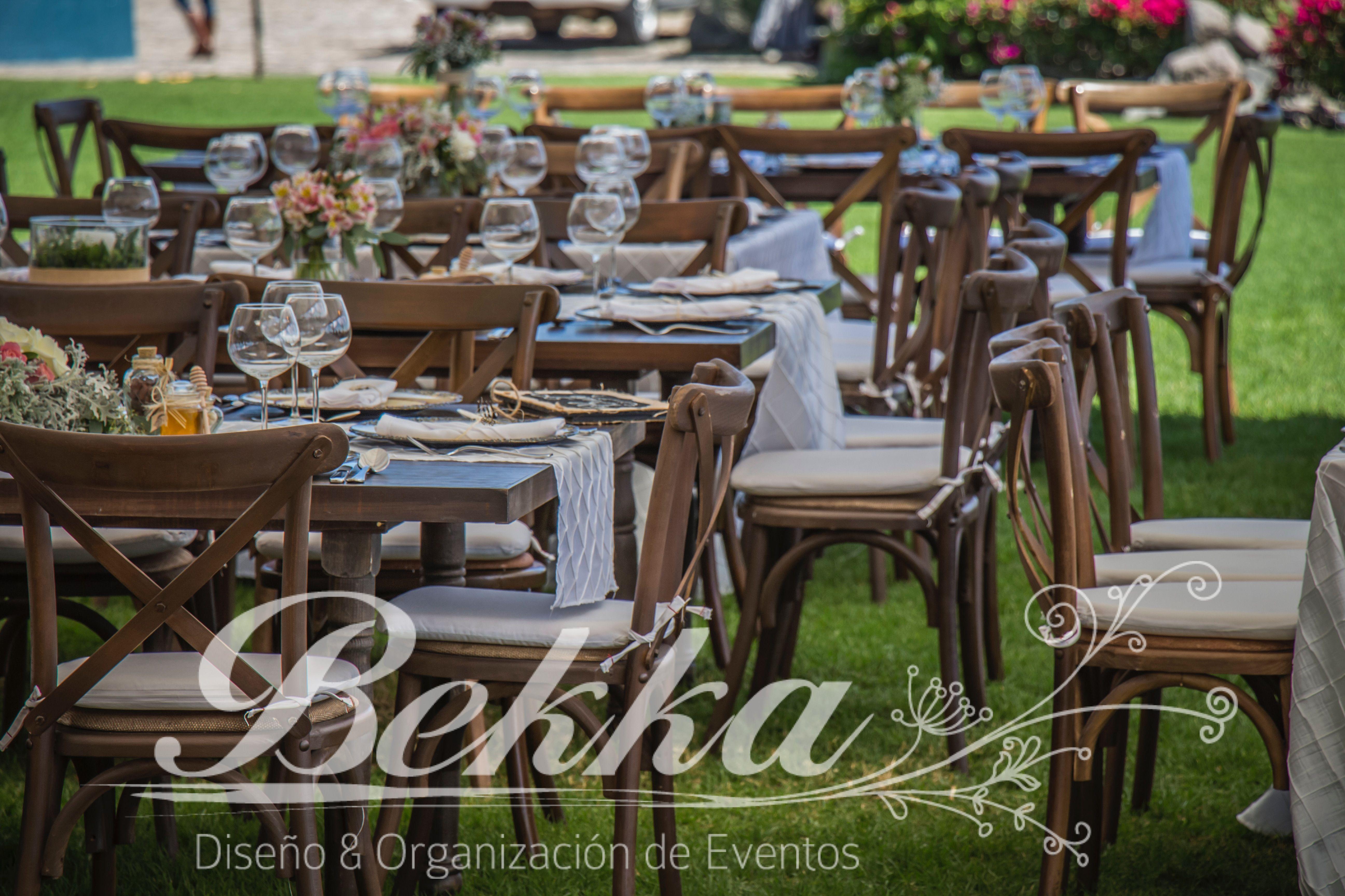 Boda con un estilo muy especial tipo vintage con - Tipos de mesas ...
