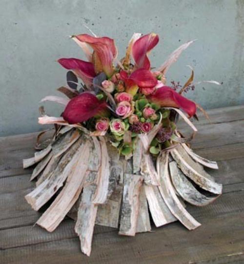 Frivool winterse schikking - bloemen en planten ...