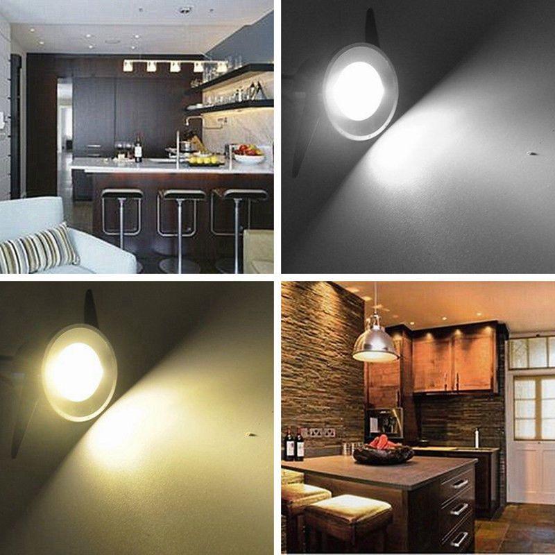 Details Sur 10x 1w Led Mini Spot Encastre Placard Cabinet Chambre Lampe Avec Transformteur With Images Recessed Ceiling Lights Recessed Downlights Ceiling Lights