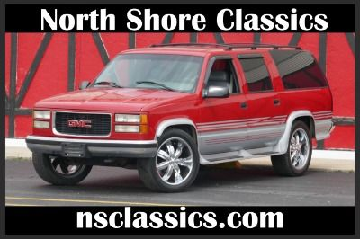 1996 Gmc Suburban New Paint Choo Choo Customs Leather Fully