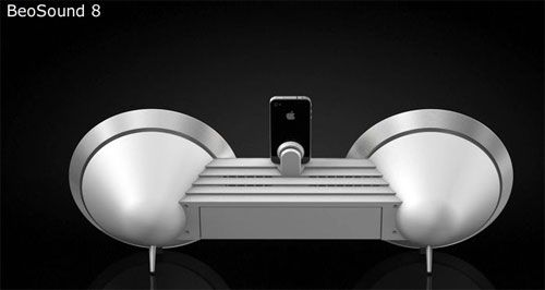 BeoSound 8 iPod and iPad dock breaks cover http://www.slashgear.com/beosound-8-ipod-and-ipad-dock-breaks-cover-10113291/