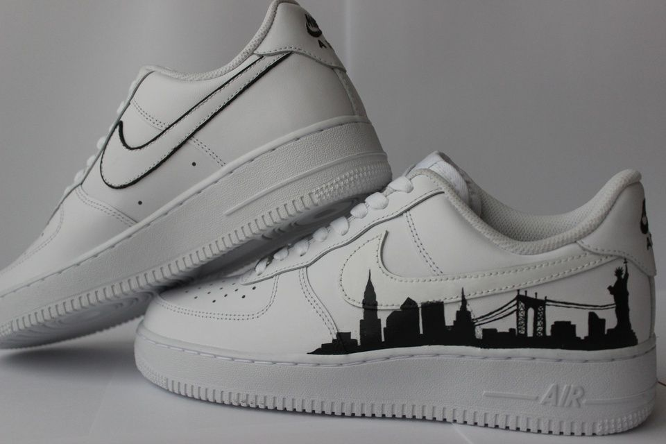dominar Corea cáustico  AF1 New York | THE CUSTOM MOVEMENT in 2021 | Nike shoes air force, Af1, Nike  air force sneaker