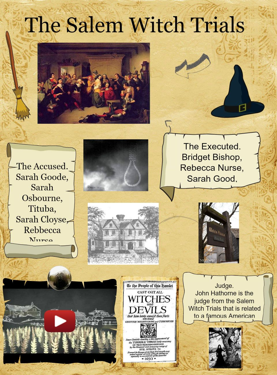 "mccarthyism vs salem witch trials thesis The salem witch trials and mccarthyism: parallels in public hysteria task overview: playwright arthur miller had more on his mind than the ""witches"" of salem, massachusetts when he penned what became one of his most-produced plays, the crucible written in 1953 during the height of what has been called the."