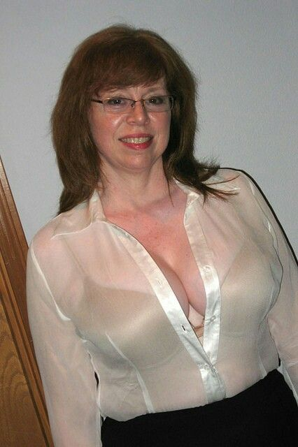 Thin granny white blouse — 5