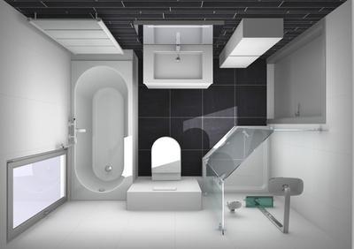 Kleine Badkamers Inspiratie : Bekijk de foto van kim huiskamp met als titel indeling kleine