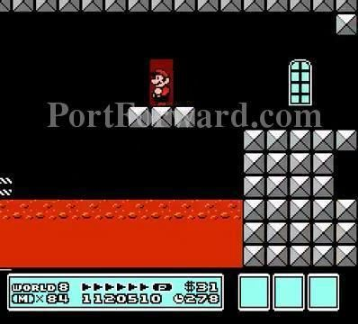 Super Mario Bros 3 Walkthrough World 8: Dark Land - Castle