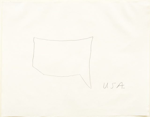 Cy Twombly The US drawn from memory | Drawing (& Prints) | Pinterest ...