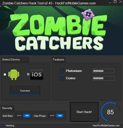 Zombie Catchers Hack Tool v2 45 | zombiecathers hack