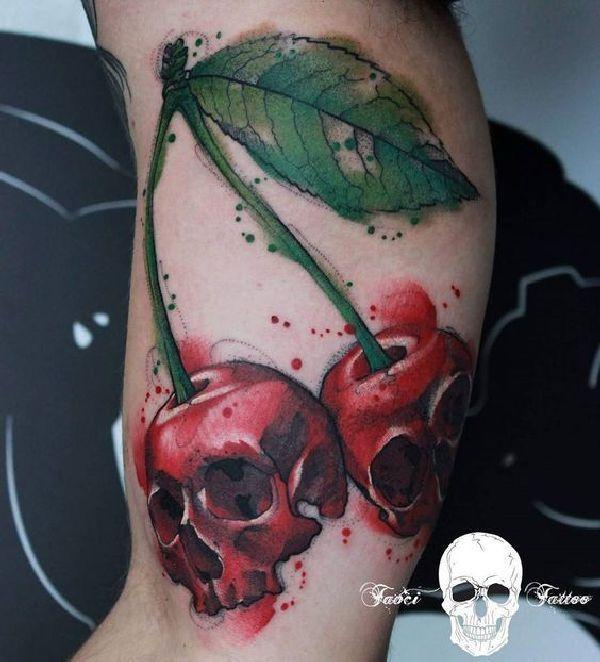 Pin Adăugat De Simona Ioana Pe Tattoo: 30 Schmackhafte Kirschen