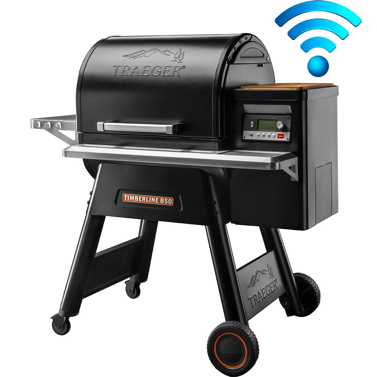 Traeger Timberline 850 Wi-Fi Controlled Wood Pellet Grill ...